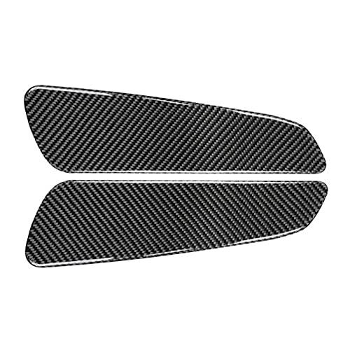 Vernacular Fit for Jeep Grand Cherokee 2011-2020 Carbon Fiber Car Rear Trunk Cover Trim Sticker Interior Trunk Accessories