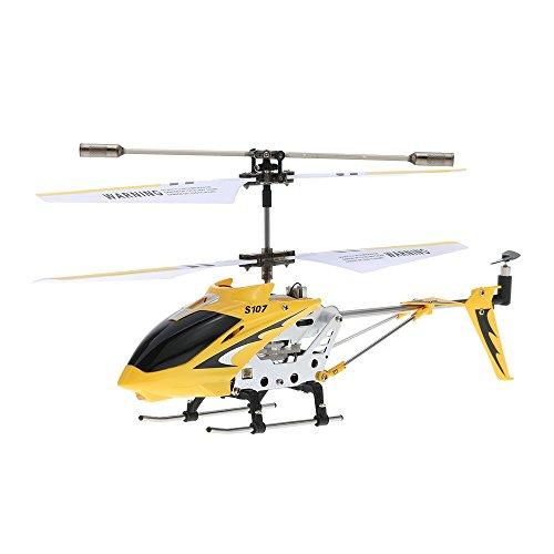 Goolsky Syma S107G R / C Helicóptero teledirigido para interiores, color amarillo