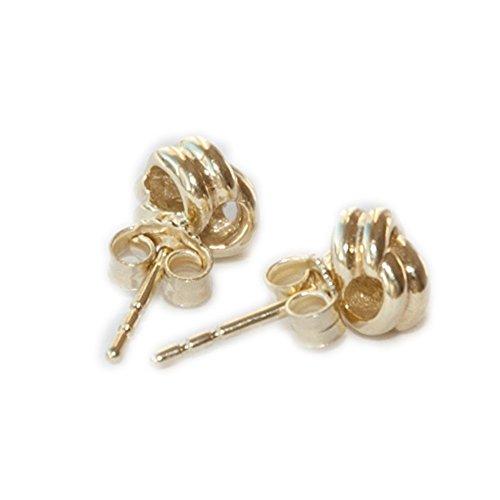 333 goud dames oorbellen oorstekers steker dubbele knopjes