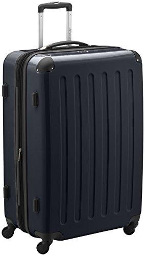 HAUPTSTADTKOFFER - Valigia Rigida Alex, TSA, Taglia 75 cm, 119 Litri, Colore Nero