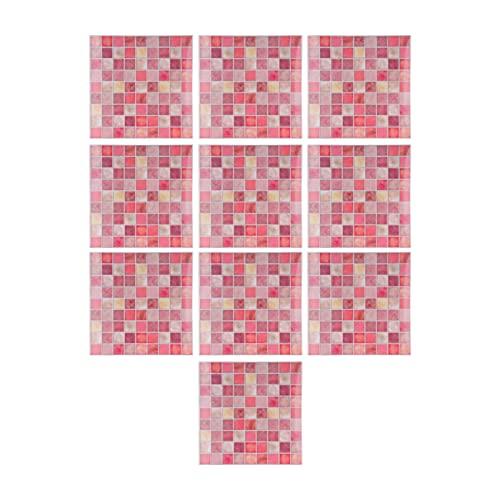 Adhesivo para azulejos, material de PVC seleccionado Adhesivo de pared impermeable al tacto delicado y cómodo Fácil de limpiar para armarios para cocinas