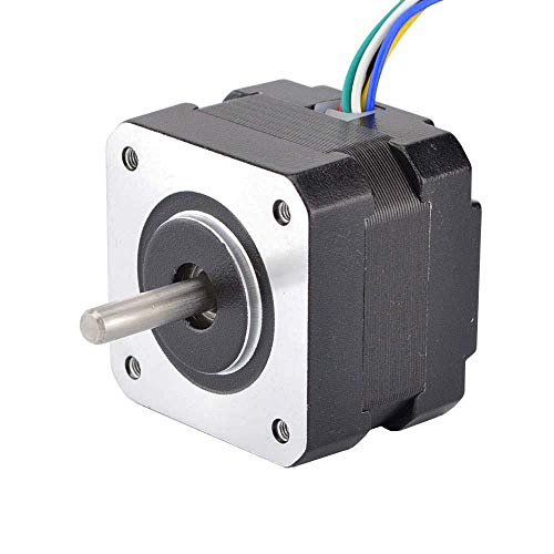 Printer Accessories Nema 17 Stepper Motor 6-Lead Unipolar 1.8deg 16Ncm(22.7oz.in) 0.95A 42x33mm Nema17 Step Motor for CNC XYZ Motor 3D Printing Accessories