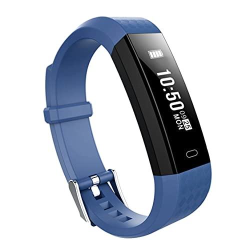 Libarty Pulsera Inteligente ZY68, Reloj de Pulsera Inteligente, monitores de Ritmo cardíaco, rastreador de Fitness para Deportes a Prueba de Agua, Banda Inteligente para iOS para Android