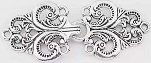 Fabulici Silver Celtic Cardigan Clip Celtic Sweater Clip