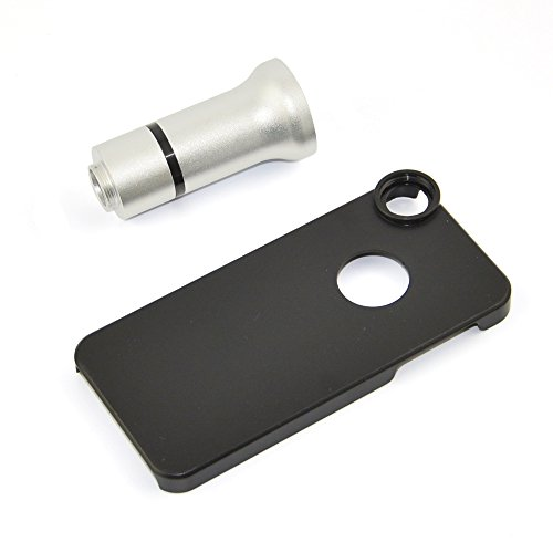 Apexel Mikroskop-Aufsatz für Handys, 50cm Brennweite, Aluminium Für iPhone 5 Flower & Insects Lens