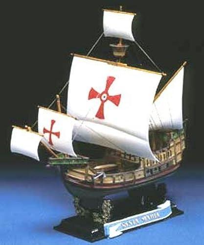 Aoshima Santa Maria 1492 Historical Sailing Ship Model Kit by Aoshima
