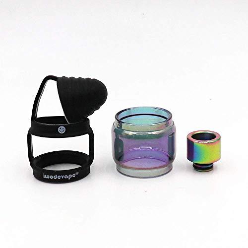 RUILUL TFV12 Prince 810 Drip Tip de rechange avec anneau de protection en silicone Noir