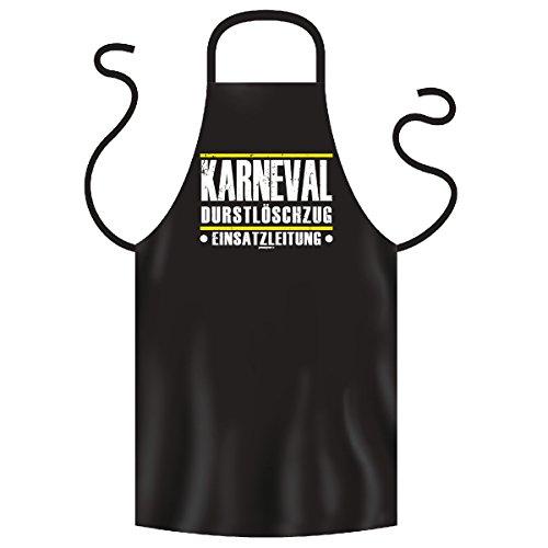 Grill und Kochschürze als Faschingsoutfit - Karneval Durstlöschzug Einsatzleitung - Kittel, Schürze