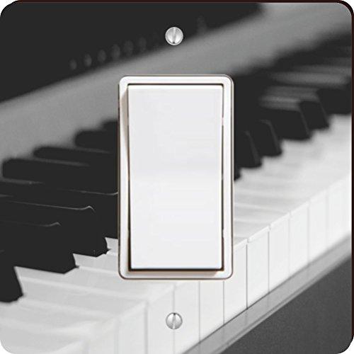 Rikki Knight Piano Tastatur Single Wippe Licht Teller