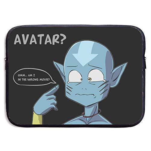 Anime Avatar The Last Airbender Laptop Sleeve Bag Case,Waterproof Laptop Briefcase Neoprene Soft Carring Tablet Travel Case,13 inch