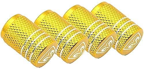 4 Piezas Coche Tapas de Válvula para Dodges Challenger Avenger Caliber, Cubiertas Impermeables de Prueba de Polvo Tapones de Válvula de Neumáticos