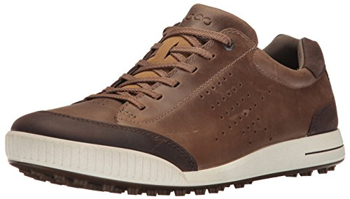 ECCO Herren Men's Golf Street Golfschuhe, Braun (50411BIRCH/COFFEE), 43 EU