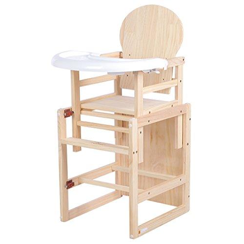 Kinderstoel Babystoel Kinderstoel Kinderkruk Babytafel en stoel massief hout multifunctioneel