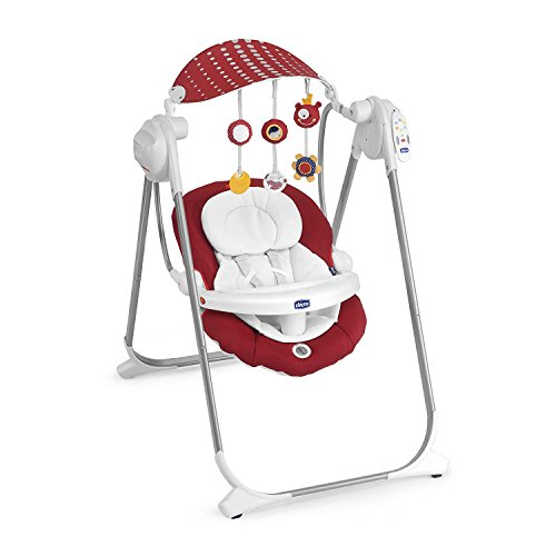Chicco 07079110710000 Schommelstoel Polly Swing Up, PAPRIKA