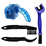 REAMTOP Bike Chain Scrubber Chain Brush Chain Gear Cleaner Bicycle Clean Tool Set