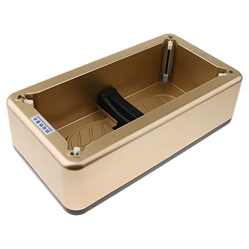 sharprepublic Dispensador Automático de Cubierta de Zapato Desechable para Laboratorio Hogar - Oro