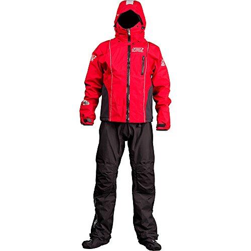 Ocean Rodeo Combinaison sèche Ignite respirabilité Drysuit L Noir - Rouge