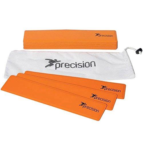 Precision feldmarkierung 29 x 25,6 cm Gummi orange 15 Stück