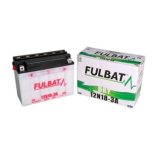Fulbat - Batería motocultor 12N18-3A 12V 18Ah