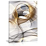 Modern Abstract Wall Art Decor Black And White Canvas Painting Kitchen Prints Pictures For Home Living Dining Room