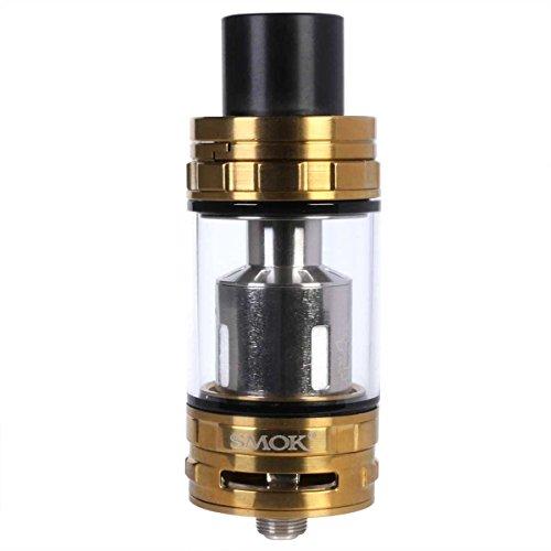 Riccardo SMOK Cloud Beast TFV8 Clearomizer, bis 6 ml, Durchmesser 24,5 mm, Verdampfer für e-Zigarette, gold, 1 Stück