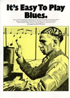 IT'S Easy TO PLAY BLUES - geregeld voor piano [noten/Sheetmusic]