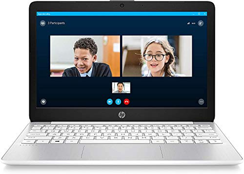2020 Newest HP Stream 11-inch HD Laptop, Intel 2-Core N4000 up to 2.6 GHz, 4 GB RAM, 32 GB eMMC, Webcam, Oydisen HDMI, Windows 10 S with Office 365 Personal for 1 Year, White (Google Classroom Ready)