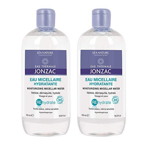 Eau de Jonzac REhydrate Eau Micellaire Hydratante Bio Lot de 2 x 500 ml