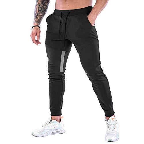 Men's Striped Sports Casual Pants, …