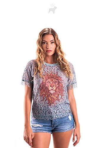 Culito from Spain Camiseta Blusa Mujer Redondo SS20323B-XL Talla XL