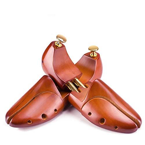 qazxsw Soporte para Zapatos retráctil para Hombres un par, Soporte Ajustable para Zapatos, esparcidor de Zapatos, Soporte para Zapatos a Prueba de Humedad