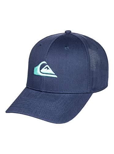 Quiksilver Jungen Cap Decades - Snapback-Kappe für Jungen 8-16, Majolica Blue, 1SZ, AQBHA03406