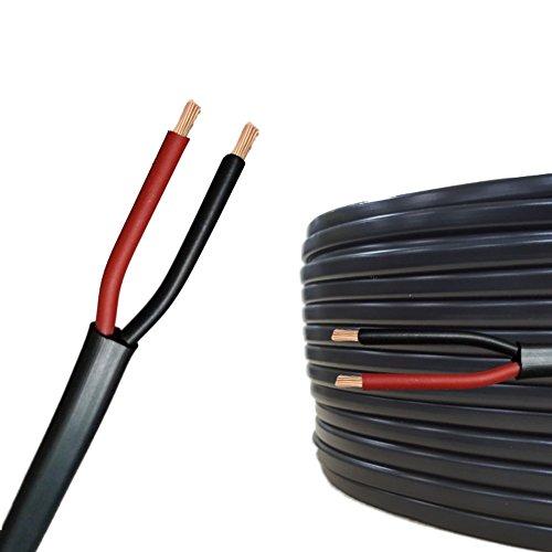 AUPROTEC 10m Flachkabel 2 adriges Elektrokabel Anhängerkabel 2 x 0,75 mm²