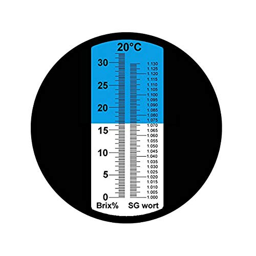 Product Image 7: Brix Refractometer with ATC, Dual Scale – Specific Gravity & Brix, Hydrometer in Wine Making and Beer Brewing, Homebrew Kit