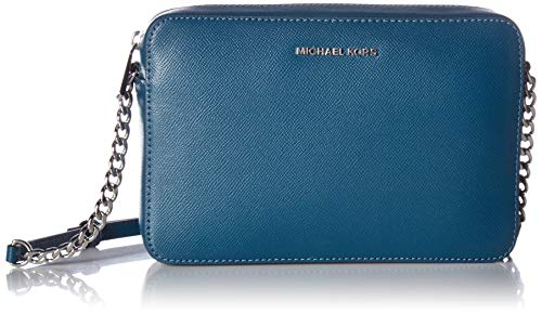 Michael Kors Jet Set Travel Large Leather Crossbody Bag