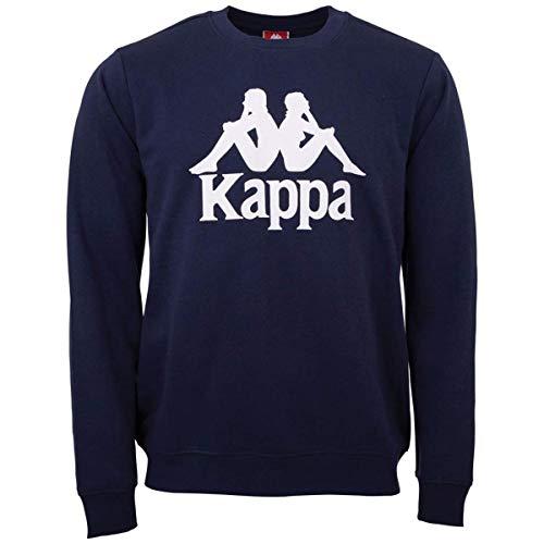 Kappa SERTUM Maglia di Tuta, Blu Navy, L Uomo