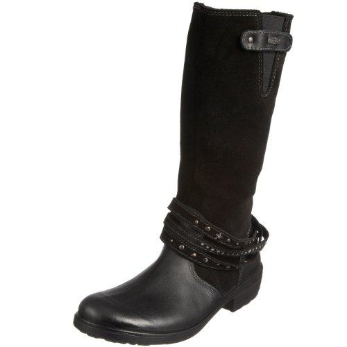 RICOSTA Mädchen 77220-097 Gummistiefel, Schwarz (schwarz Black), 34 EU