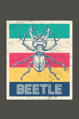Käfer: Notizbuch (120 Seiten, 15x23cm, gepunktet) Dotted Bullet Grid Tagebuch Journal