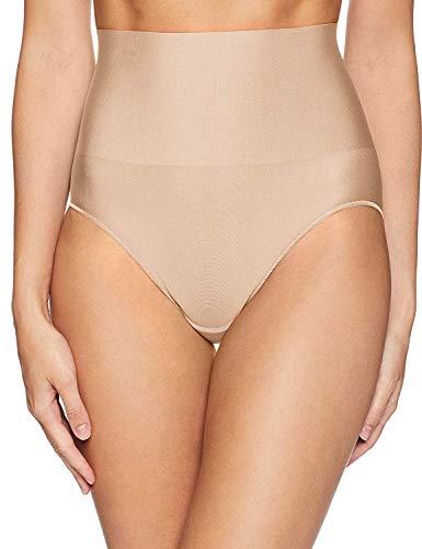 Maidenform Tame Your Tummy Brief Domar Las Bragas de Encaje de su Barriga, Desnudo Transparente, M para Mujer ⭐