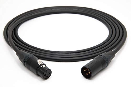 Mogami 2534 Quad Professionel Studio Kabel Symmetrische Mikrofon | Neutrik Gold XLR female - XLR male | HiFi, 3,0 m