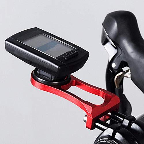 Soporte para computadora para bicicleta, soporte para computadora para bicicleta, resistente, ajustable, portátil, fácil de operar, metal de calidad para bicicleta, vástago para(red)
