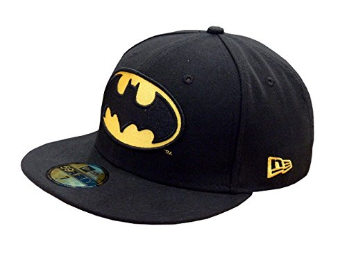 New Era Cap Character Basic Batman, Black, 6 7/8
