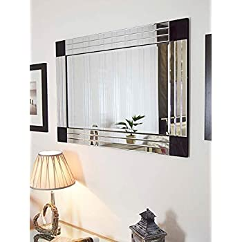 Buy Quality Glass Silver Horizontal Decorative Wall Mirror For Living Room Wall Mirror Mirror For Bathrooms Mirror In Home Decorative Mirror Modern Mirror Mirror Size