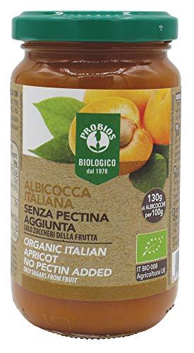 Probios Compota de Albaricoque, con Azúcar de La Fruta - Paquete de 6 x 220 gr - Total: 1320 gr