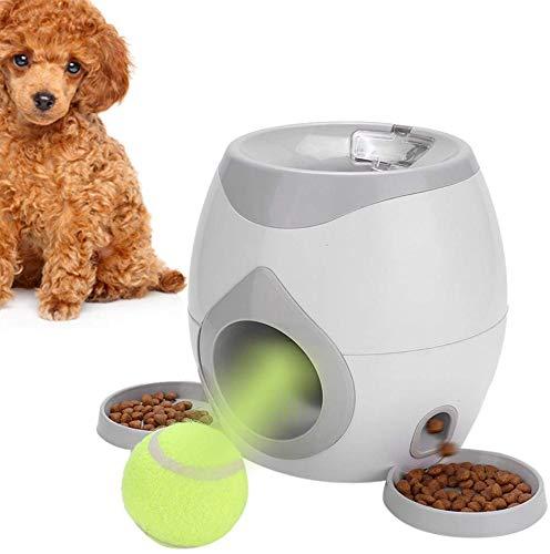 Automatischer Ballwerfer Intelligenzspielzeug Ballmaschine Hund Interaktives Spielzeug Tennisball Lebensmittel Belohnung Maschine Interaktives Tennisball Wurfgerät für Hunde