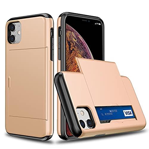 Oihxse SGP Ranura Tarjeta Funda Compatible con Samsung Galaxy S4, con Diapositiva Tapa Oculto Ranura para Tarjeta, Dura PC y TPU Antichoque Double Protection Case
