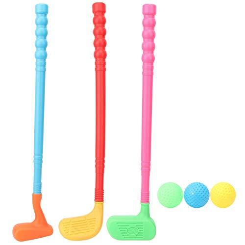 Golfschläger Set Spielzeug Golf Kit, Sport Sport Golfspielzeug, Kinder Golf Club Set, Kleinkind Golf Spielzeug, Indoor & Outdoor Sport Golfspielzeug, Geschenk für Jungen, Mädchen Kinder 3 4 5 6 Jahre