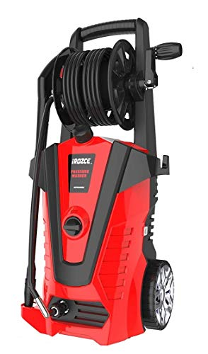powertec pressure washers iRozce Pressure Washers, 3850PSI 2.4GPM Max Electric Power Washer with Hose Reel/Adjustable Nozzles, Turbo Nozzle, Foam Cannon for Concrete, Deck, Patio Furniture, Car Washing