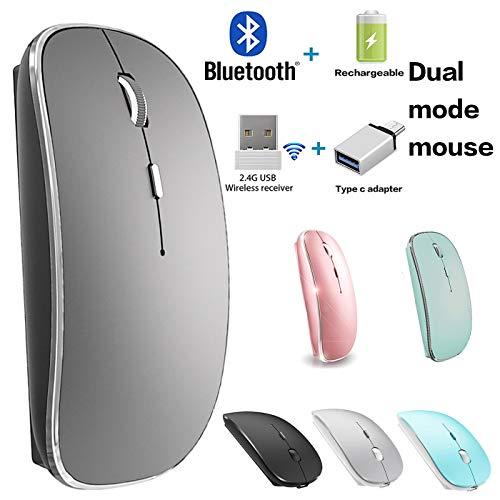 Bluetooth Mouse for Macbook Pro Macbook Air iPad Chromebook Desktop Computer Laptop Windows
