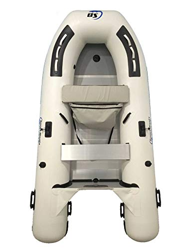 Inflatable Sport Boats Shark 9.8' - Model SB-300-2021 Model - Aluminum Floor Premium Heat Welded Dinghy with Seat Bag
